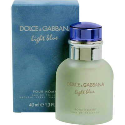 DOLCE & GABBANA LIGHT BLUE POUR HOMME EDT VAPO 40 ML