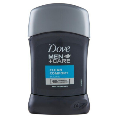 DOVE MEN DEODORANTE STICK CLEAN COMFORT 40 ML