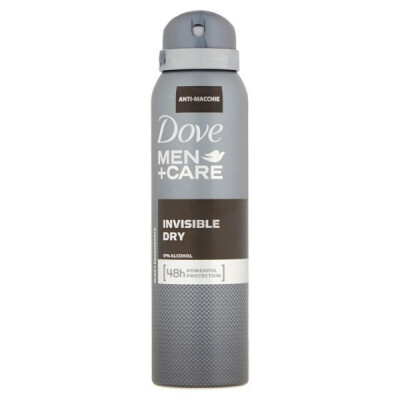 DOVE MEN DEODORANTE MEN CARE INVISIBLE DRY SPRAY ML 150