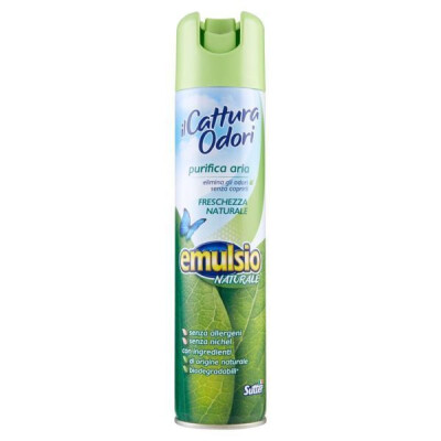 EMULSIO CATTURA ODORI SPRAY FRESCHEZZA NATURALE ML 300
