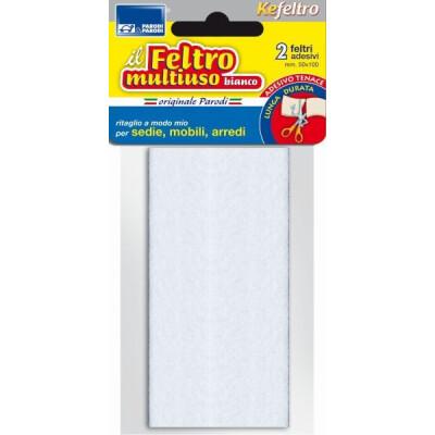 2 FELTRINI MULTIUSO BIANCO 50 X 110 MM