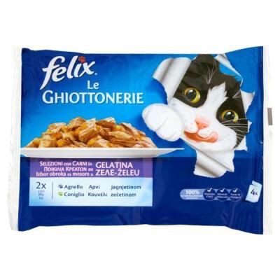 FELIX LE GHIOTTONERIE CONIGLIO E AGNELLO 100 GR X 4 PEZZI