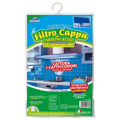 FILTRO CAPPA SPECIAL AI CARBONI ATTIVI 40 X 60 CM
