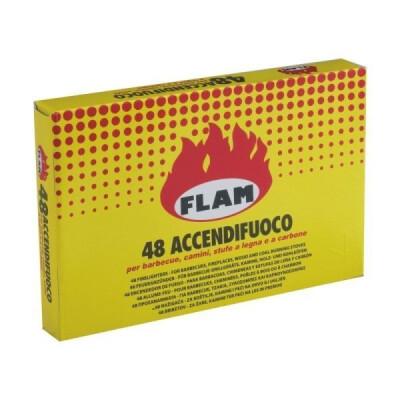 FLAM ACCENDIFUOCO 48 CUBETTI