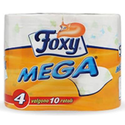 FOXY MEGA IGIEN.4 ROTOLONI 2 VL.DECORATO