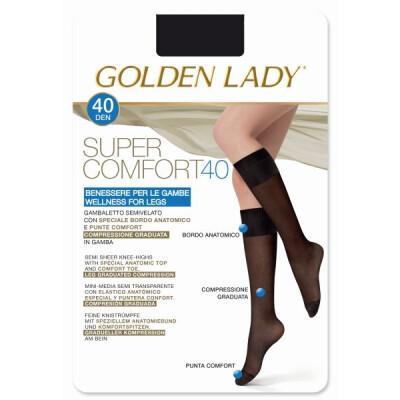 GOLDEN LADY GAMBALETTO SUPERCOMFORT 40 DENARI TAGLIA M/L COLORE NERO