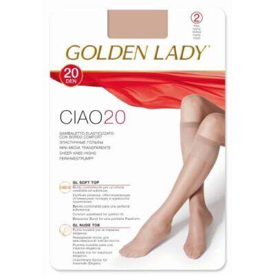 GOLDEN LADY GAMBALETTO CIAO 20 DENARI COLORE NERO 2 PAIA