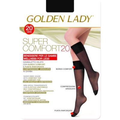 GOLDE LADY GAMBALETTO SUPER COMFORT TAGLIA M/L COLORE GLACE