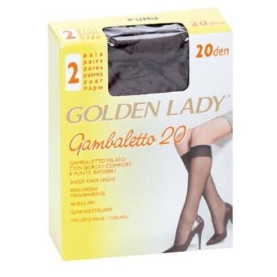 GOLDEN LADY GAMBALETTO FILANCA 20 DENARI COLORE FUMO 2 PAIA