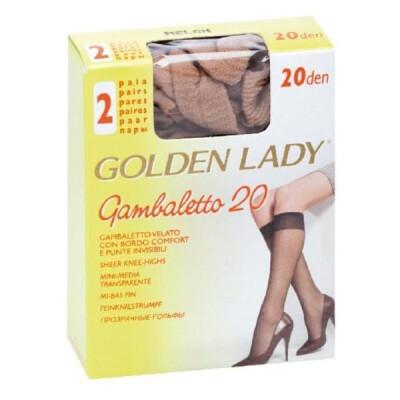 GOLDEN LADY GAMBALETTO FILANCA 20 DENARI COLORE MELON 2 PAIA