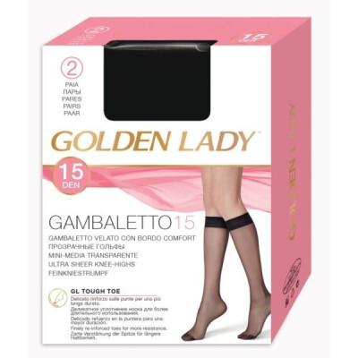 GOLDEN LADY GAMBALETTO VELATO 15 DENARI COLORE NERO 2 PAIA