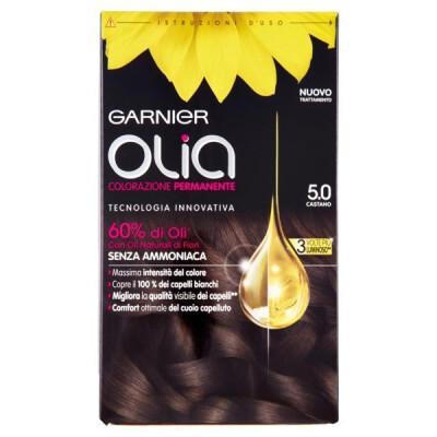 GARNIER OLIA - COLORAZIONE PERMANENTE - 5.0 CASTANO
