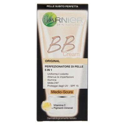 BB CREAM ORIGINAL - CREMA VISO DI PELLE 5 IN 1, MEDIO-SCURA - 50 ML