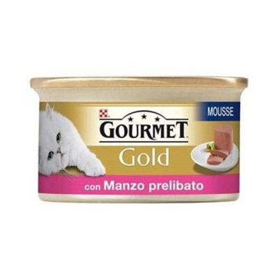 GOLD GOURMET GR.85 MOUSSE DI MANZO