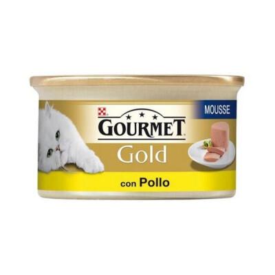 GOLD GOURMET GR.85 MOUSSE POLLO