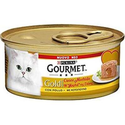 GOURMET GOLD CUORE M. C/POLLO 85GR