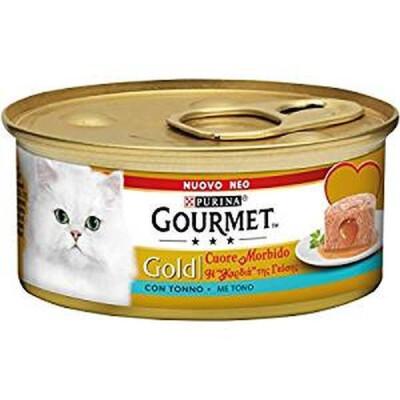 GOURMET GOLD CUORE M. C/TONNO 85GR