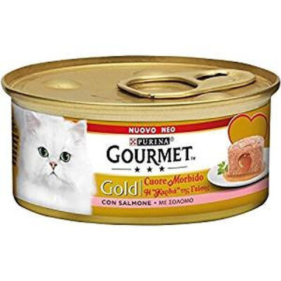 GOURMET GOLD CUORE M. C/SALMONE 85GR