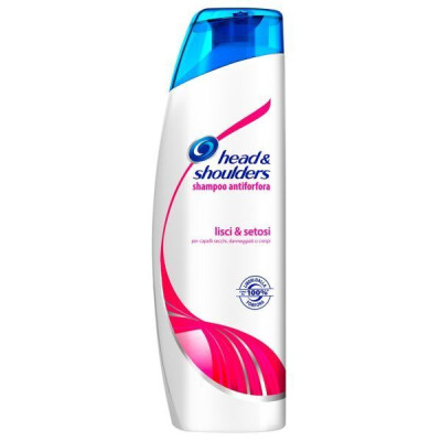 HEAD & SHOULDERS SHAMPOO CAPELLI LISI E SETOSI 250 ML