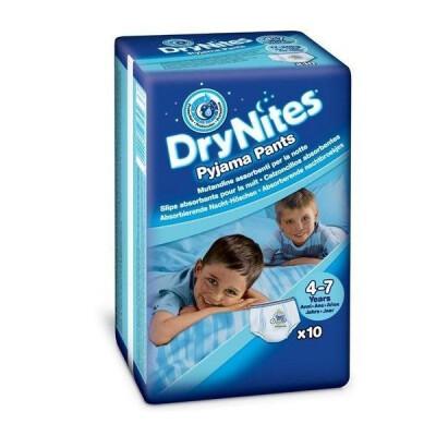 HUGGIES DRYNITES 4-7 ANNI BOY 10 PZ.