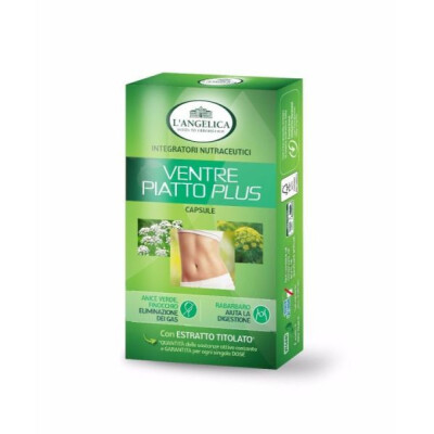 ANGELICA INTEGRATORE VENTRE PIATTO PLUS 40 CAPSULE
