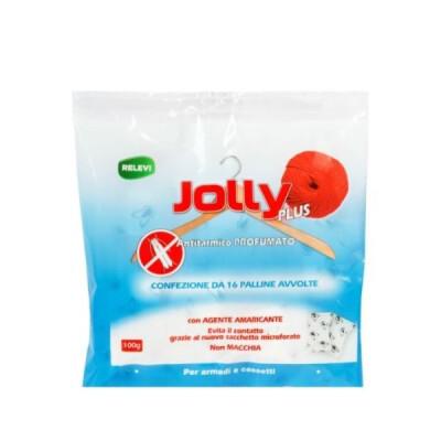 JOLLY PLUS ANTITARMICO PROFUMATO 16 PALLINE BUSTA 100 GR