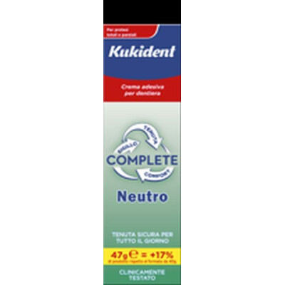 KUKIDENT CREMA FISSATIVA NEUTRAL 40 ML