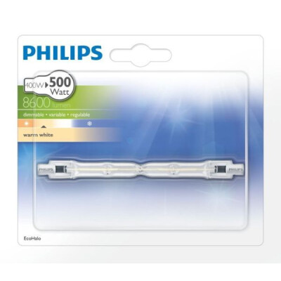 PHILIPS LAMPADINA LINEARE ALOGENA R7S 400W