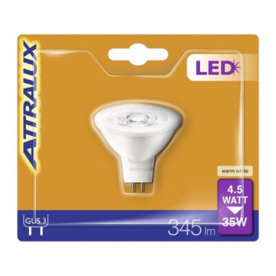 ATTRALUX LED FARETTO 35W GU5.3