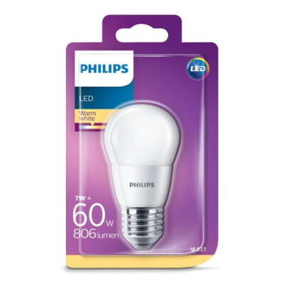 ATTRALUX LAMPADINA LED SFERICA SMERIGLIATA E27 60 WATT LUCE CALDA 2700 K