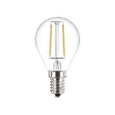 ATTRALUX LAMPADINA LED SFERICA FILAMENTO E14 25 WATT LUCE CALDA 2700K