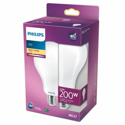 Philips lampadina LED goccia vetro 200W E27 2700K non dim