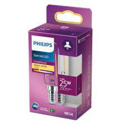 Philips lampadina LED tubolare T25 25W E14 2700K non dim
