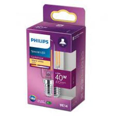 Philips lampadina LED tubolare T25 40W E14 2700K non dim