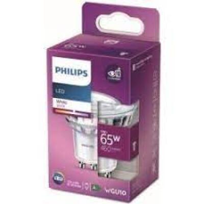 Philips lampadina LED faretto in vetro GU10 65W 3000K non dim