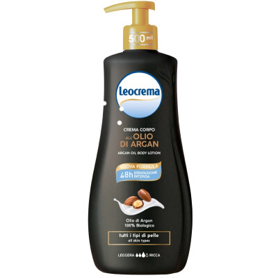 LEOCREMA FLUIDA ARGAN 500ML