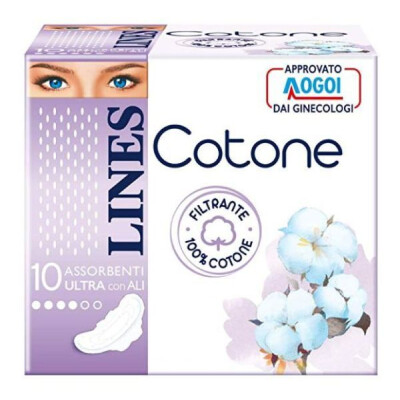 LINES COTONE ULTRA ALI 10 PZ