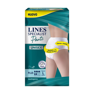 LINES SPECIALIST PANTS UNISEX L PLUS 7PZ