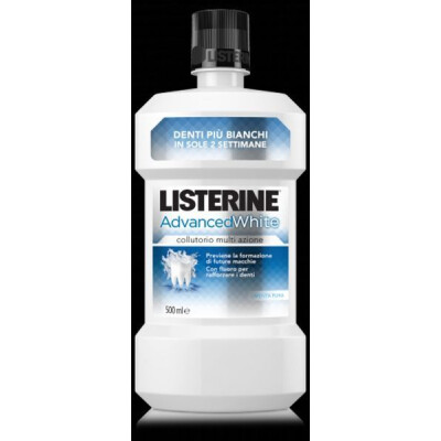 LISTERINE COLLUTORIO ADVANCE WHITE 500 ML