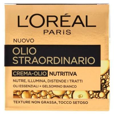 L'OREAL OLIO STRAORDINARIO CREMA OLIO VISO NUTRITTIVA 50 ML