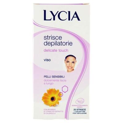 LYCIA DELICATE TOUCH STRISCE DEPILATORIE VISO 20 PZ