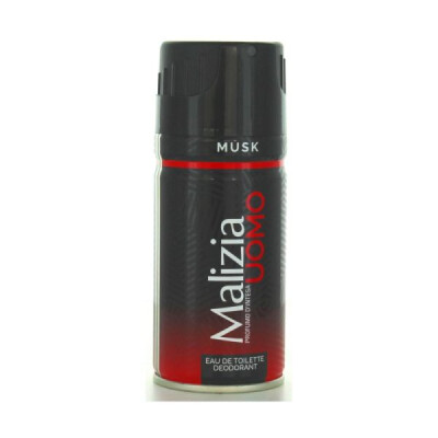 MALIZIA UOMO EDT DEO MUSK-ROSSO 150 ML