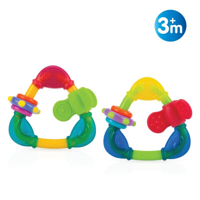 NUBY TRIANGOLO MASSAGGIA GENGIVE 3M+