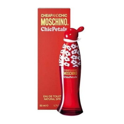 CHEAP AND CHIC MOSCHINO CHIC PETALS EAU DE TOILETTE SPRAY 50 ML