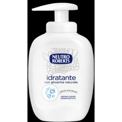 NEUTRO ROBERTS SAPONE LIQUIDO CON DISPENSER 300 ML
