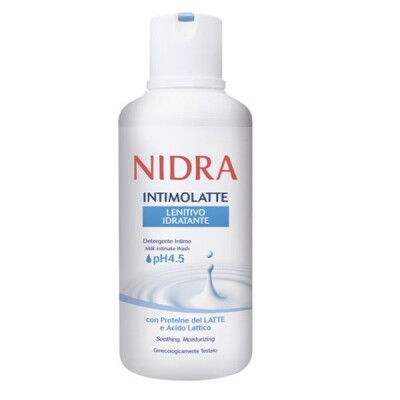 NIDRA INTIMOLATTE PH4,5 LENITIVO 500 ML