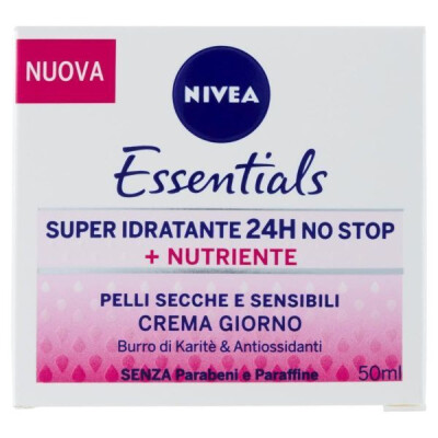 NIVEA ACQUA EFFECT CREMA VISO GIORNO IDRATENTE INTENSIVA PER PELLI SECCHE 50 ML