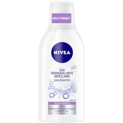 NIVEA VISAGE ACQUA MICELLARE SENSITIVE 400 ML
