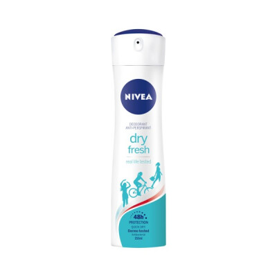 NIVEA DEODORANTE SPRAY 150 ML DRY FRESH