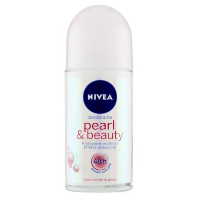 NIVEA DEODORANTE ROLL-ON PEARL & BEAUTY ML 50